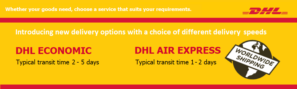 DHL Air Express - worldwide shipping