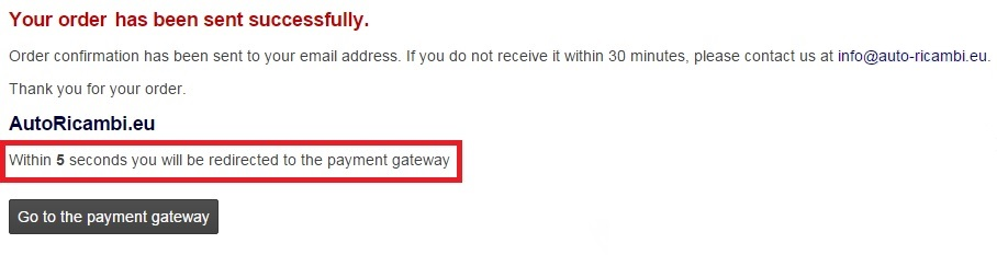 GoPay, PayPal payment gateway