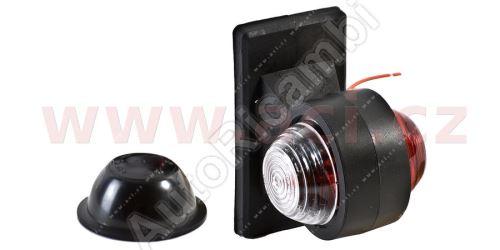 obrysové světlo červeno-bílé s obj. a kabelem TRUCK  L=P