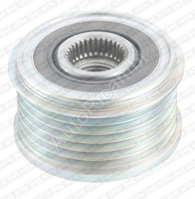 Alternator pulley Fiat Scudo 2007> 1.6 JTD, 2.0 JTD E4 150A