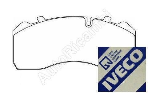 Brake pads Iveco EuroCargo 120E, 160E of front = rear