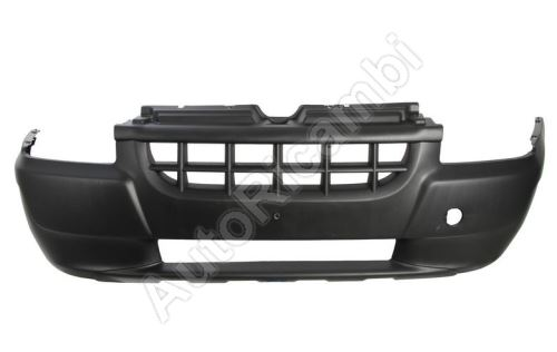 Bumper Fiat Doblo 2000-05 front, black