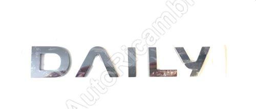 Znak ´´DAILY´´  Iveco Daily 2014> zadný