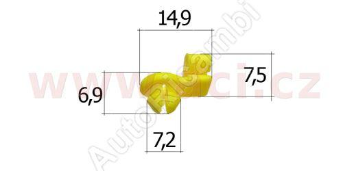 Plastic clip (5pcs)