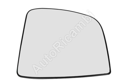 Sklo zrkadla Fiat Doblo 2010> ľavé, s držiakom, nevyhrievané