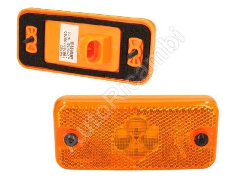 Pozičné svetlo Iveco - 4x LED, 24 V - oválny konektor Superseal 2-pin