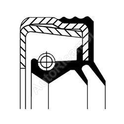Gufero náboja Iveco Eurocargo - 150x170x14