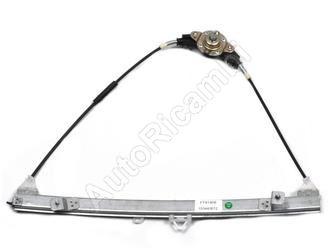 Window lifter mechanism Fiat Doblo 2000-10 manual, right