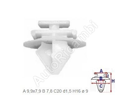 Fiat Ducato 250 torpedo clip