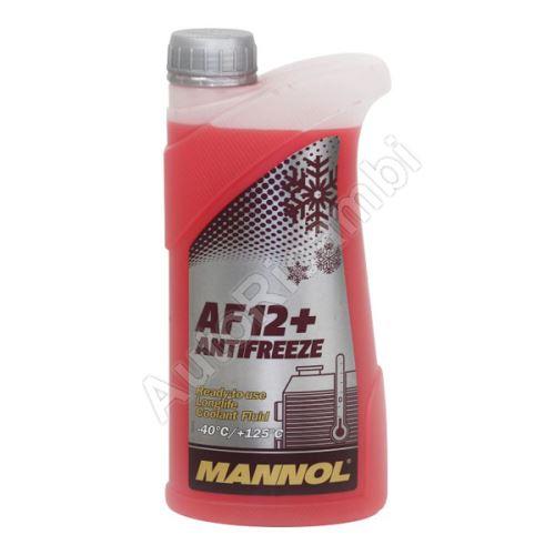 Coolant liquid G12 1 liter -40 ° C red