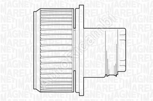Ventilátor kúrenia Fiat Ducato 02> 2.3 JTD