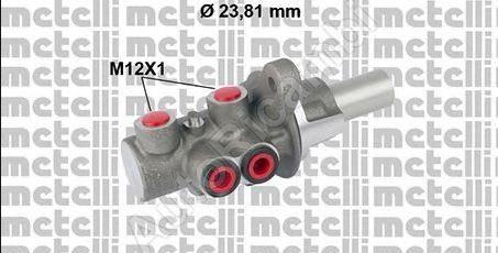 Master brake cylinder Fiat Doblo 2010 s ABS + ESP