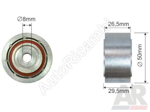 Drive belt pulley Fiat Ducato 244 2,0JTD