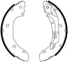 Brzdové čeľuste Fiat Ducato 244- bubnová brzda