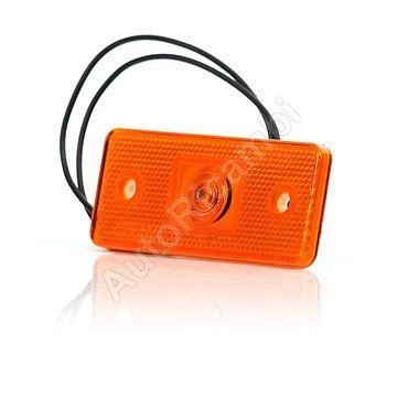 Pozičné svetlo oranžové obdĺžnikové 116x46 mm