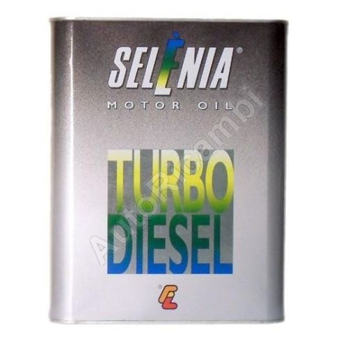 Engine oil Selénia Turbo Diesel 10W40, 2L