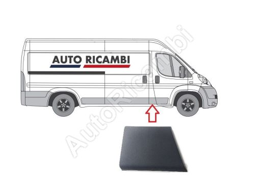 Protective strip Fiat Ducato 250 right behind the door
