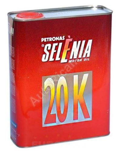 Motorový olej Selénia 20K 10W40, 2L