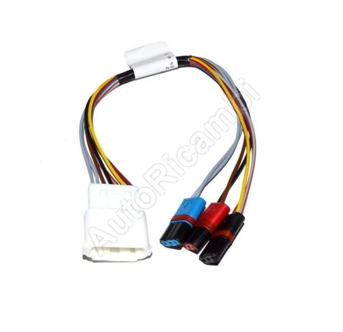 Reduction of Rear View Mirror cabling Iveco Daily 2000