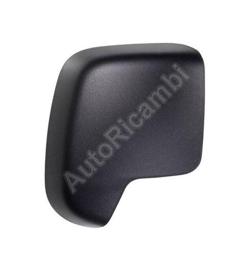 Kryt zrkadla Fiat Fiorino 2007> pravý - čierný