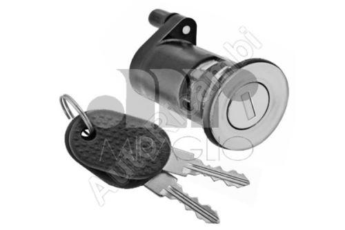 Obal zámku ľavých dverí Fiat Ducato 244 + vložka + klúč