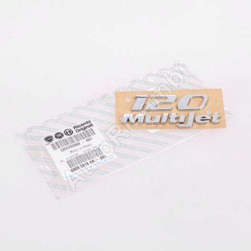 """Znak """"120 MutliJet"""" Fiat Ducato 250"""