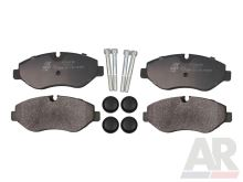 Brake pads Iveco Daily 06> front 35C14/C16/C18