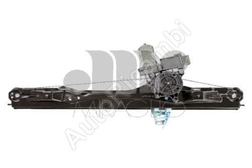Window mechanism Fiat Doblo 2010> front, left, with motor