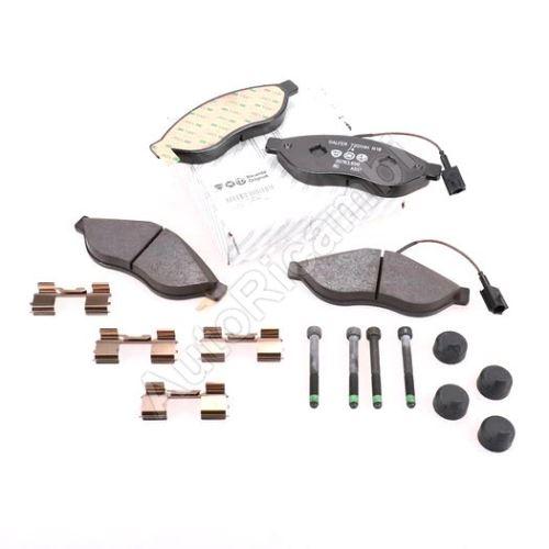 Brake pads Fiat Ducato 250/2014> front Q11-17L - two sensors