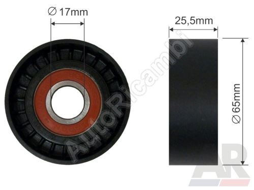 Alternator belt pulley Fiat Doblo 2010 1,6 / 2,0MTJ guide
