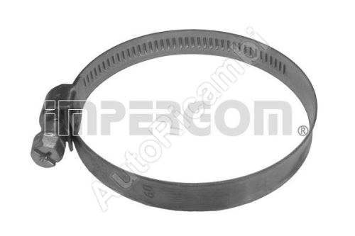 Perforated hose clamp 16-27 mm