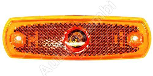 boční poziční světlo oranžové s odrazkou a obj. TRUCK  L=P