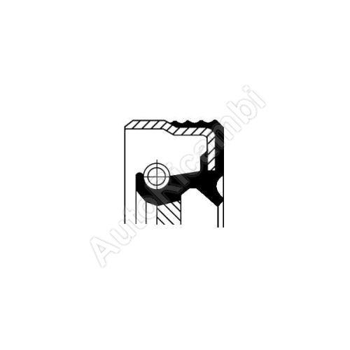 Crankshaft seal Iveco EuroCargo, Stralis 140x165x13 mm