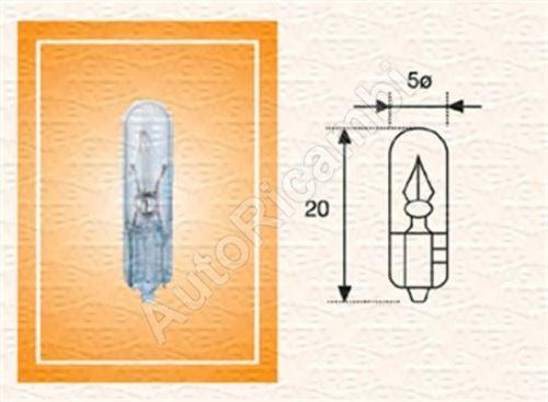 Žiarovka 24V 1,2W W2X4,6D celosklenná
