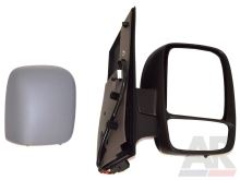 Zrkadlo Fiat Scudo 07> pravé, elektricky ovládané, vyhrievané