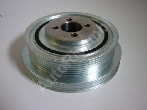 Belt pulley, crankshaft Iveco Daily, Fiat Ducato 2,3 with A/C