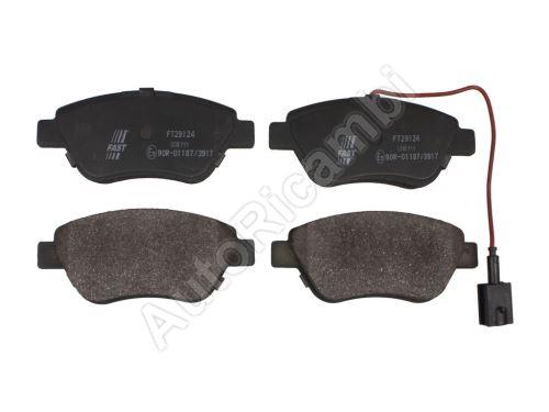 Brake pads Fiat Fiorino 1.4, 1.6, 1.9 07> front