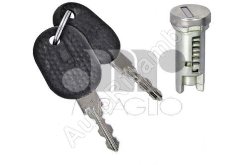 Door lock cylinder Fiat Ducato 230, key + cylinder 1x
