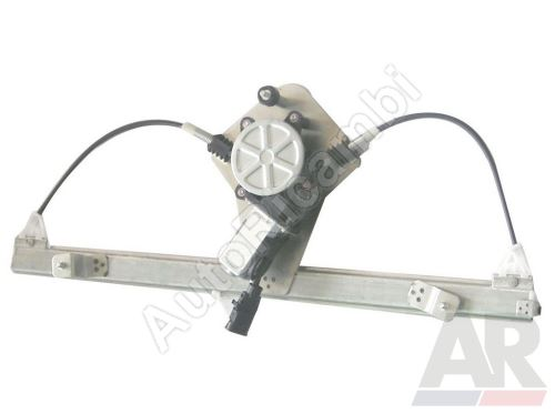 Window lifter mechanism Fiat Doblo 2000-10 electric, right, with motor
