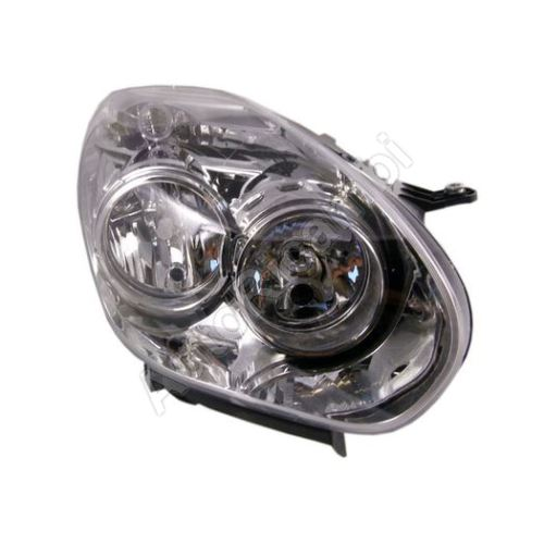 Headlight Fiat Doblo 2010-2016 right, with motor, H7 + H1