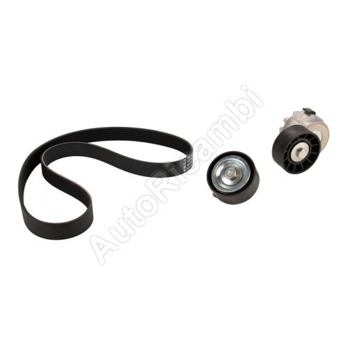Drive belt + pulleys Fiat Ducato 244/250/2014> 2.3 JTD set