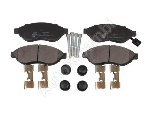 Brake pads Fiat Ducato 250/2014> front Q11-17L - one sensor