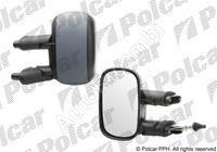 Mirror Fiat Doblo 2000-10 left, manual, for paint