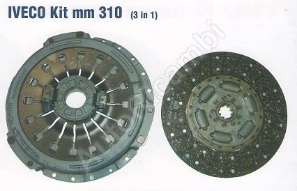 Clutch kit Iveco EuroCargo 75E14, 310mm