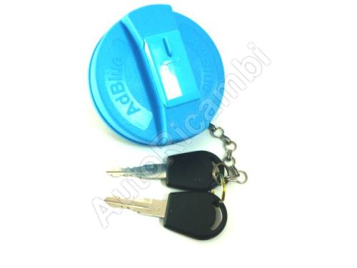 Uzáver nádrže AdBlue Iveco EuroCargo, Stralis + kľúče