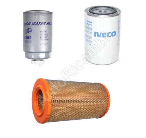 Sada filtrov na motor Fiat Ducato 2002-2006 2,3 bez peľového filtra