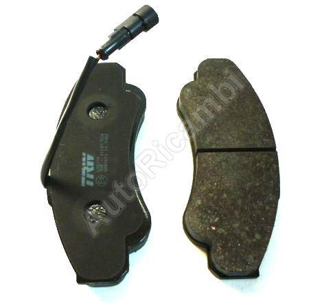 Brake pads Fiat Ducato 02-06 244 Q18 front