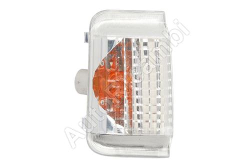 Turn signal light Fiat Ducato 250 orange left 16W