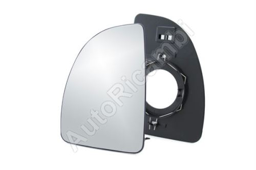 Mirror glass Fiat Ducato 230/244, left, large, no heated