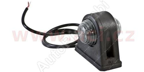 Obrysové svetlo červeno-biele s 50 cm káblom 24V (2 LED diódy) TRUCK L = P